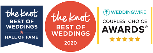 TheKnot.com Hall of Fame - Wedding Wire Couples Choice Award - TheKnot Best of Weddings 2020